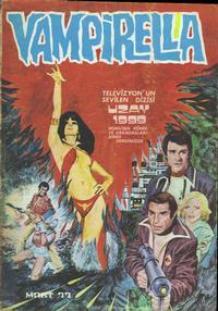 Cover Thumbnail for Vampirella (Mehmet K. Benli, 1976 series) #[21]