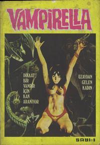 Cover Thumbnail for Vampirella (Çizgi Yayınları, 1980 series) #1