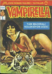 Cover Thumbnail for Vampirella (Ali Recan, 1983 ? series) #1