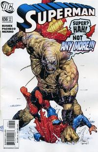 Cover Thumbnail for Superman (DC, 2006 series) #656