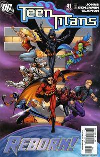 Cover Thumbnail for Teen Titans (DC, 2003 series) #41 [Direct Sales]