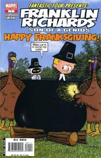 Cover Thumbnail for Franklin Richards: Happy Franksgiving (Marvel, 2007 series) #1
