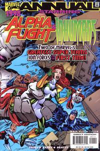 Cover Thumbnail for Alpha Flight / Inhumans '98 (Marvel, 1998 series)
