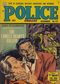 Cover Thumbnail for Police Comics (Quality Comics, 1941 series) #122