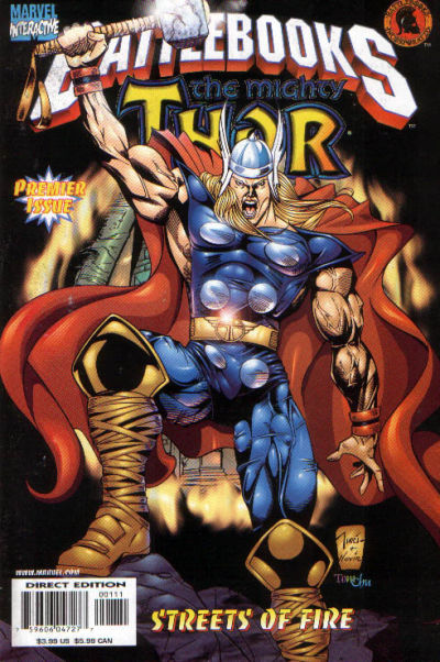 Cover for Thor Battlebook: Streets of Fire (Marvel, 1998 series)