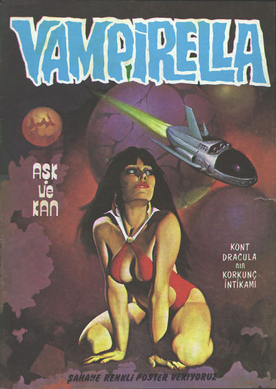 Cover for Vampirella (Mehmet K. Benli, 1976 series) #1