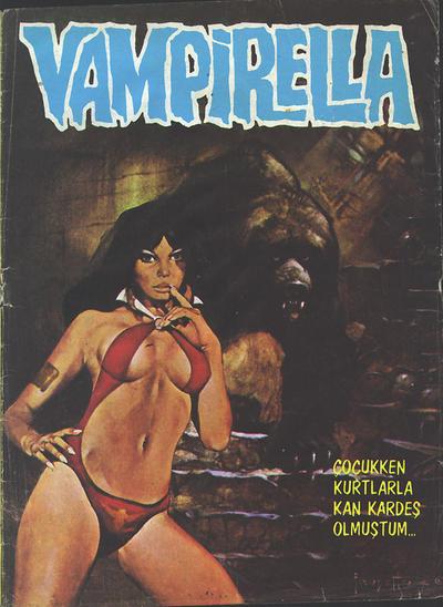 Cover for Vampirella (Mehmet K. Benli, 1976 series) #4