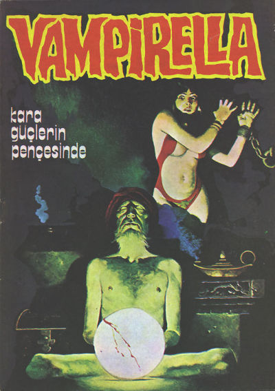 Cover for Vampirella (Mehmet K. Benli, 1976 series) #6