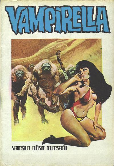 Cover for Vampirella (Mehmet K. Benli, 1976 series) #7