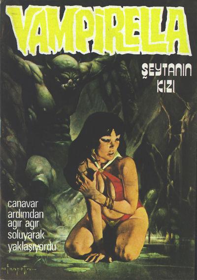 Cover for Vampirella (Mehmet K. Benli, 1976 series) #8