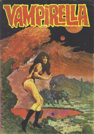 Cover for Vampirella (Mehmet K. Benli, 1976 series) #9