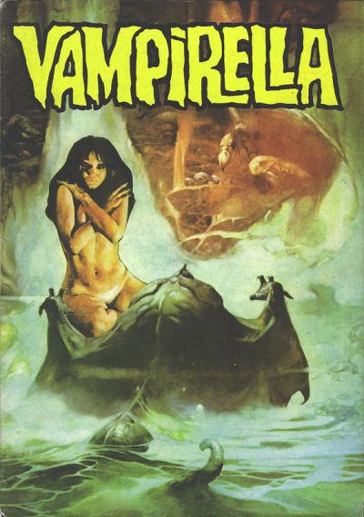 Cover for Vampirella (Mehmet K. Benli, 1976 series) #10