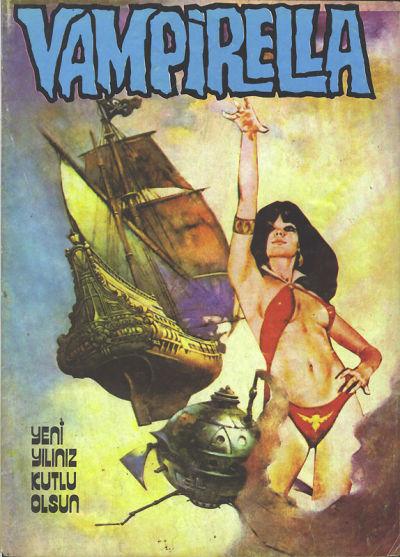 Cover for Vampirella (Mehmet K. Benli, 1976 series) #12