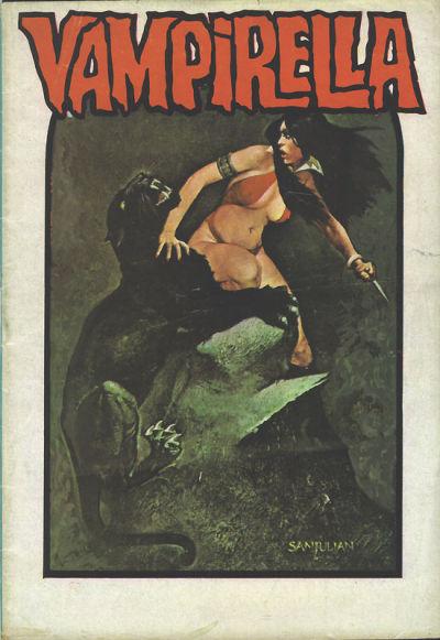Cover for Vampirella (Mehmet K. Benli, 1976 series) #13