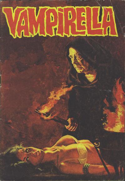Cover for Vampirella (Mehmet K. Benli, 1976 series) #16