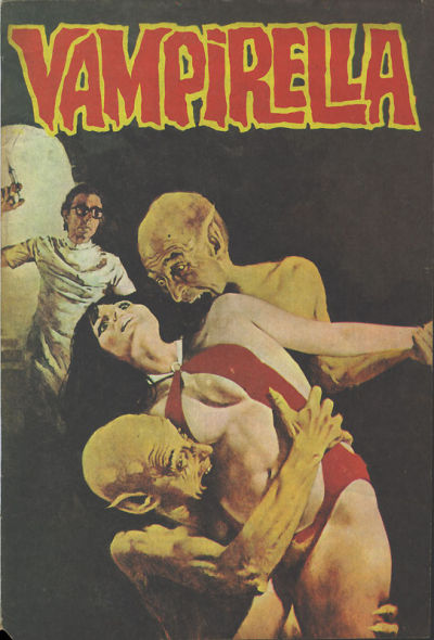 Cover for Vampirella (Mehmet K. Benli, 1976 series) #18