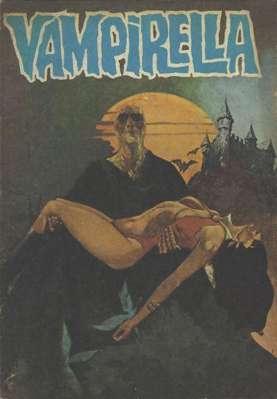 Cover for Vampirella (Mehmet K. Benli, 1976 series) #19