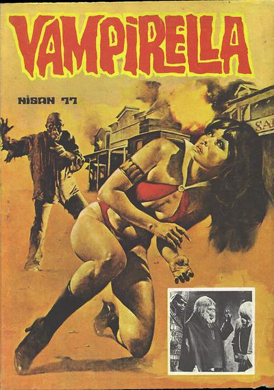 Cover for Vampirella (Mehmet K. Benli, 1976 series) #[22]