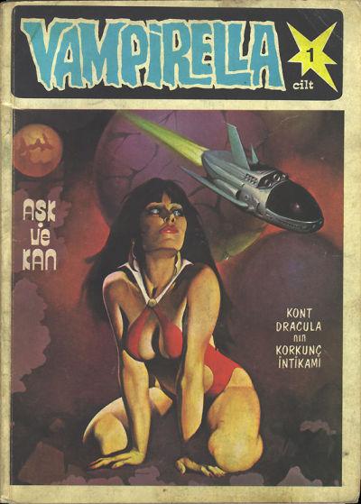 Cover for Vampirella (Mehmet K. Benli, 1977 ? series) #1