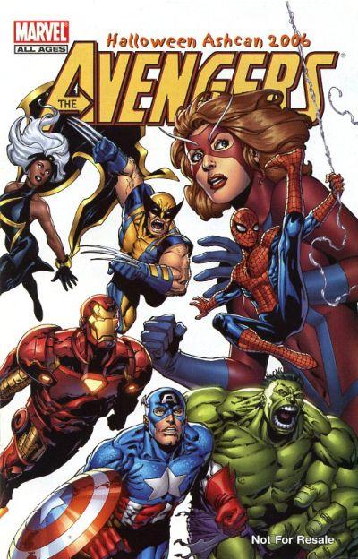 Cover for Marvel Halloween Ashcan 2006 (Marvel, 2006 series)