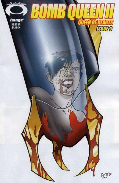 Cover for Bomb Queen II Queen of Hearts (Image, 2006 series) #3