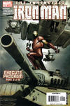 Cover for Iron Man (Marvel, 2005 series) #9 [Direct Edition]
