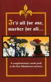 Cover for It's All for One, Murder for All... (Berkley Books, 2006 series) #PA-3040