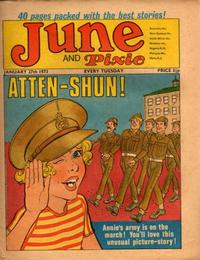 Cover Thumbnail for June and Pixie (IPC, 1973 series) #27 January 1973