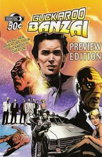 Cover Thumbnail for Buckaroo Banzai Return of the Screw Preview (Moonstone, 2006 series)