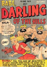 Cover Thumbnail for Babe, Darling of the Hills (Prize, 1949 series) #v2#4 (10)