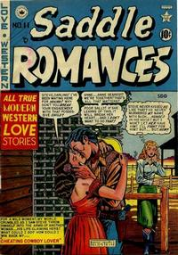 Cover Thumbnail for Saddle Romances (Superior Publishers Limited, 1950 series) #11