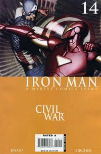 Cover Thumbnail for Iron Man (Marvel, 2005 series) #14