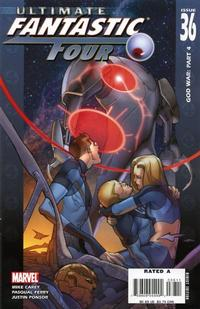 Cover Thumbnail for Ultimate Fantastic Four (Marvel, 2004 series) #36