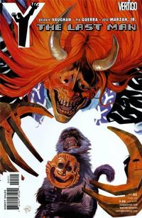 Cover Thumbnail for Y: The Last Man (DC, 2002 series) #45