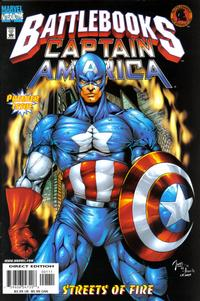Cover Thumbnail for Captain America Battlebook: Streets of Fire (Marvel, 1998 series)