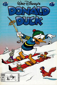 Cover Thumbnail for Donald Duck (Gladstone, 1986 series) #306