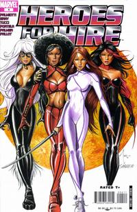 Cover Thumbnail for Heroes for Hire (Marvel, 2006 series) #4