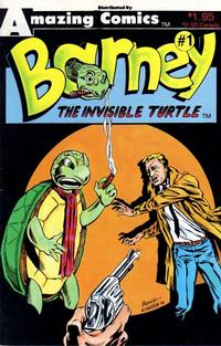 Cover Thumbnail for Barney the Invisible Turtle (Amazing, 1987 series) #1