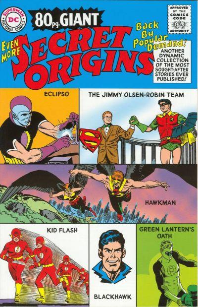 Cover for Even More Secret Origins (DC, 2003 series)