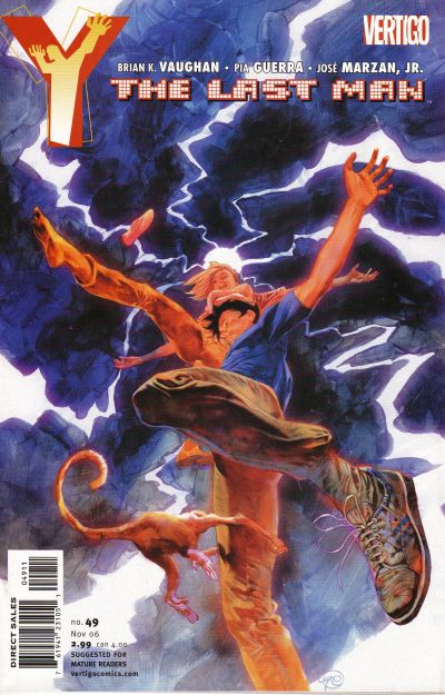 Cover for Y: The Last Man (DC, 2002 series) #49