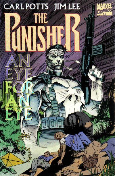 Cover for Punisher: An Eye for an Eye (Marvel, 1991 series)