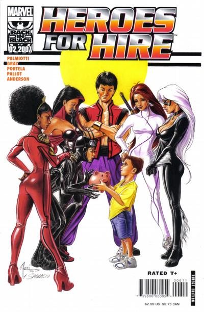 Cover for Heroes for Hire (Marvel, 2006 series) #6