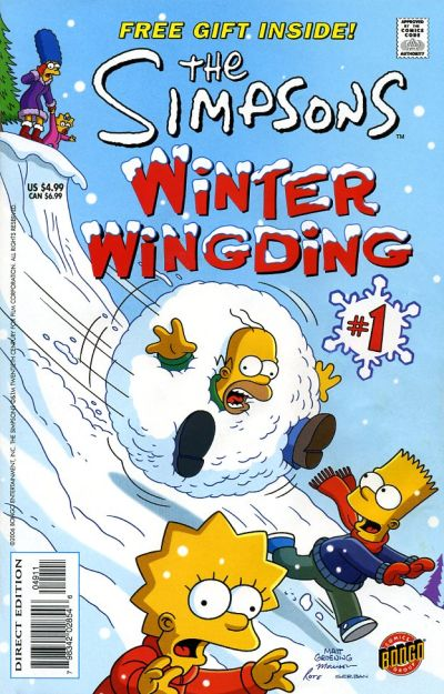 Cover for The Simpsons Winter Wingding (Bongo, 2006 series) #1
