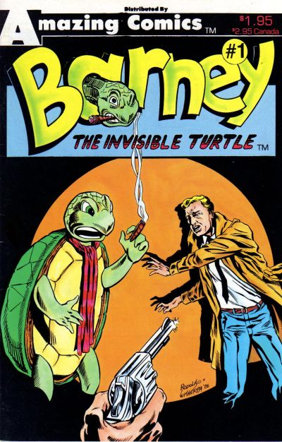 Cover for Barney the Invisible Turtle (Amazing, 1987 series) #1