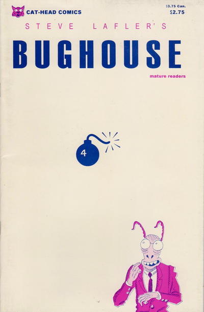 Cover for Bughouse (Cat-Head Comics, 1994 series) #4