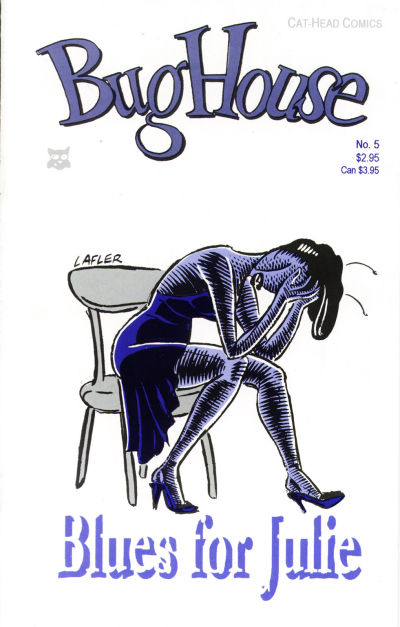 Cover for Bughouse (Cat-Head Comics, 1994 series) #5