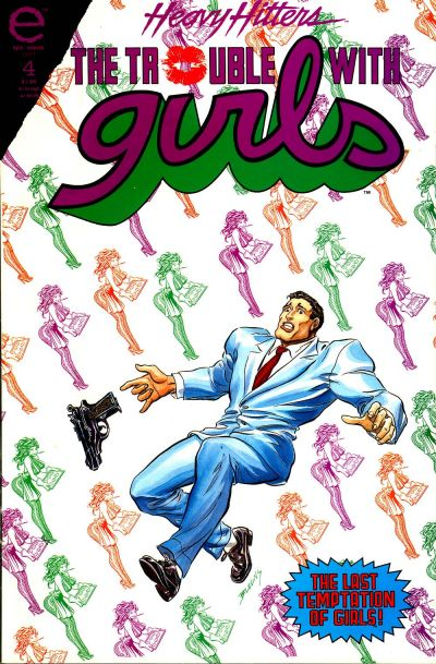Cover for The Trouble with Girls: Night of the Lizard (Marvel, 1993 series) #4