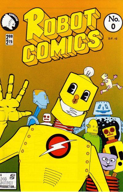 Cover for Robot Comics (Renegade Press, 1987 series) #0