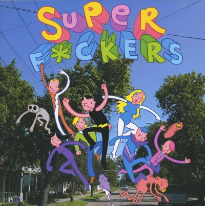 Cover for Superf*ckers (Top Shelf, 2005 series) #271 [1]