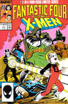Cover for Fantastic Four vs. X-Men (Marvel, 1987 series) #3 [Direct Edition]